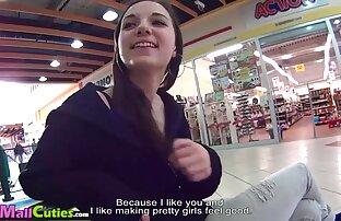 Um tipo apaixonado dá vídeo pornô com mulher brasileira uma massagem Sensual à Adolescente Gorda.